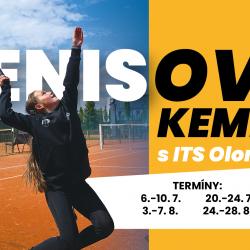 Letní tenisové kempy s ITS 2020